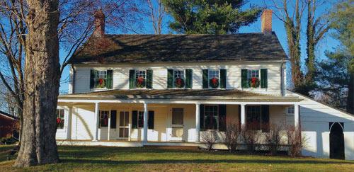 Parker Homestead Restoration Painting